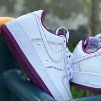 Nike  AIR FORCE 1 '07 STITCH VIOTECH パープル