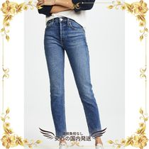 RE DONE(リダン) デニム・ジーパン ★関税込★High Rise Ankle Crop Jeans