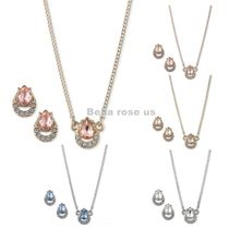Givenchy 2-Pc. Set Crystal Earrings & Pendant Necklace
