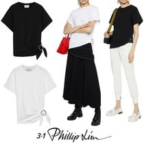 3.1 Phillip Lim Buckle-detailed cotton-jersey Tee トップス