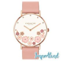 Perry Blush Leather Strap Watch 36mm
