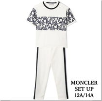 21SS★MONCLER Tシャツ&レギンスセット 12/14A 大人OK【関税込】