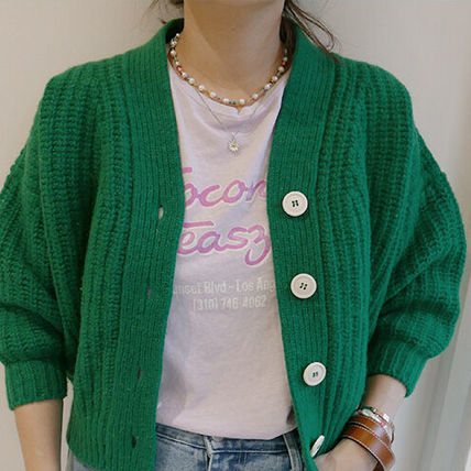 VINTAGE HOLLYWOOD ネックレス・ペンダント 【VINTAGE HOLLYWOOD】Pearl n Beads+Daisy Necklace〜2連セット(13)