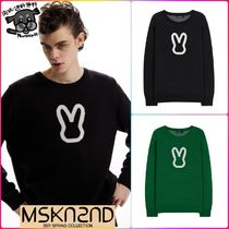 【MSKN2ND】MOON BUNNY SWEATER  全2色