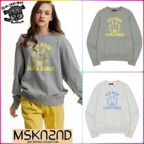 【MSKN2ND】ALOHA HAWAII SWEATSHIRT  全2色