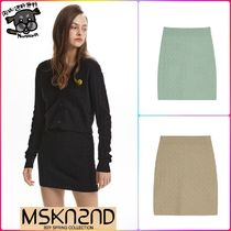 【MSKN2ND】WEAVING PATTERN MINI SKIRT 全3色