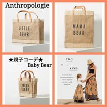 Anthropologie 親子コーデ Baby Bear Mini Tote Bag