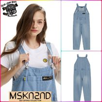 【MSKN2ND】DENIM OVERALLS LIGHT BLUE