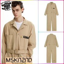 【MSKN2ND】BIO WASHED JUMPSUIT BEIGE