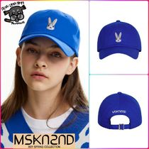 【MSKN2ND】MOON BUNNY BALL CAP ULTRAMARINE