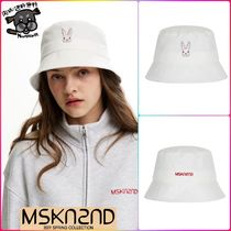 【MSKN2ND】MOON BUNNY BUCKETHAT WHITE