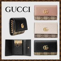 GUCCI☆GG Marmont leather key case☆レザーキーケース☆送料込