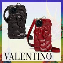 ◆VALENTINO◆IPHONE12Proケース 03 ROSE EDITION