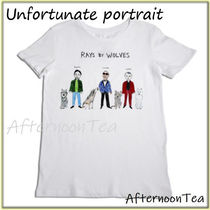 RH取扱 UNFORTUNATE PORTRAIT RAYS BY WOLVES Tシャツ