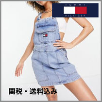 ★ Tommy Jeans ★ cargo dungaree dress デニムサロペット