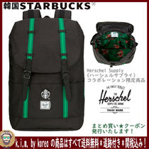 ∞ 韓国☆STARBUCKS ∞21 HERSCHEL GREEN BACKPACK