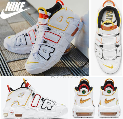 Nike キッズスニーカー 送料無料・関税込み・大人もOK♪Nike Air More Uptempo 'Raygun'