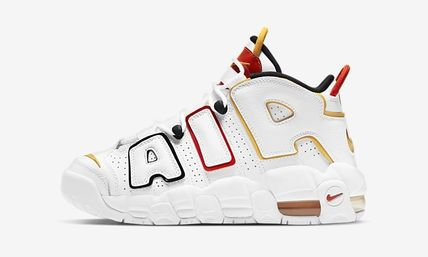 Nike キッズスニーカー 送料無料・関税込み・大人もOK♪Nike Air More Uptempo 'Raygun'(4)
