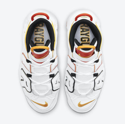 Nike キッズスニーカー 送料無料・関税込み・大人もOK♪Nike Air More Uptempo 'Raygun'(5)