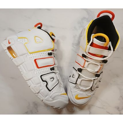 Nike キッズスニーカー 送料無料・関税込み・大人もOK♪Nike Air More Uptempo 'Raygun'(11)