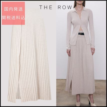 ★The Row★Coraline Skirt ウール&シルク【関税/送料込み】