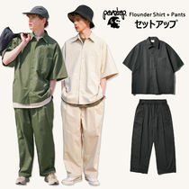 PERSTEP正規品★【セットアップ】Flounderシャツ+ロングパンツ