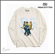 Urban Outfitters(アーバンアウトフィッターズ) Tシャツ・カットソー 【Urban Outfitters】TLC◆ヴィンテージウォッシュ◆長袖Tシャツ