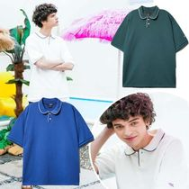 WV PROJECT★BTS愛用★CADDY COLLAR POLO SHIRT MJST7391