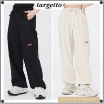 TARGETTO SEOULのLINEN STRING JOGGER PANTS 全2色