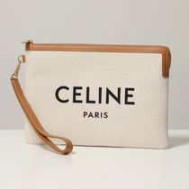 CELINE クラッチバッグ 10E632CO8 Small Pouch with strap