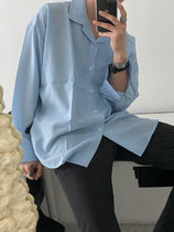 Ampoule Daily Overfit Open Collar Shirt (5color)