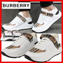 Burberry(バーバリー) スニーカー ★【BURBERRY】★MULTICOLOR LEATHER AND FABRIC SNEAKER.S★