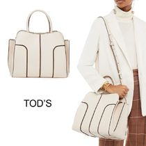 TOD'S Leather Shoulder Bag レザーショルダーバッグ★国内発送