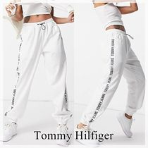 【Tommy Hilfiger】Tommy Jeans サイドロゴ スウェットパンツ