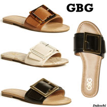GUESS◆GBG フラット サンダル◆Hallie Buckle Sandals