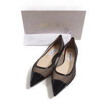 Jimmy Choo::Amika Flat :IT38.5[RESALE]
