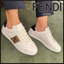 FENDI 21SS White leather Low top sneakers white スニーカー