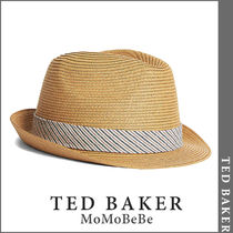 TED BAKER(テッドベーカー) ストローハット 【国内発送・関税込】TED BAKER パンストロートリルビーハット