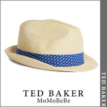 TED BAKER(テッドベーカー) ストローハット 【国内発送・関税込】TED BAKER ストロートリルビーハット