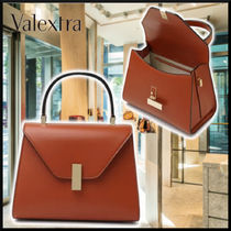 Valextra 21SS mini ISIS brown ハンドバッグ