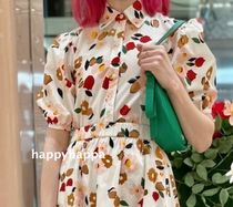 【kate spade】サイズ豊富*botanical garden shirt
