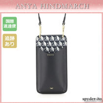 21SS☆送料込【Anya Hindmarch】プリント フォン ポーチ