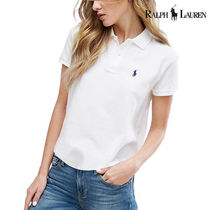 Polo Ralph Lauren W Collar T-shirt White Classic Fit
