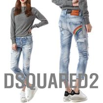 DSQUARED2(ディースクエアード) COOL GIRL CROPPED JEANS damage