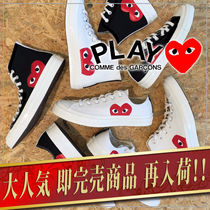 【COMME des GARCONS】 CONVERSE ALL STAR コラボスニーカー