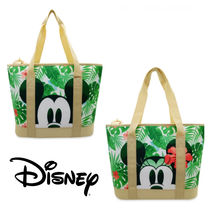 ★DISNEY★Mickey and Minnie Mouse Tropical Cooler Bag