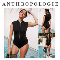 【Anthropologie】水着 Seafolly Zip-Front One-Piece Swimsuit