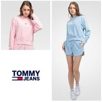 【TOMMY JEANS】Pastel Collection ベロアトレーナー 要在庫確認