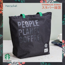 【韓国スタバ】Herschel★Green Eco Bag