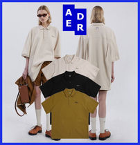 【ADERERROR】Duct tape logo polo shirt